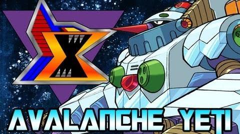 Mega Man X8 Avalanche Yeti