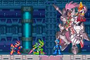 Zero, Harpuia, la Copia de X, Omega y Weil MMZ3