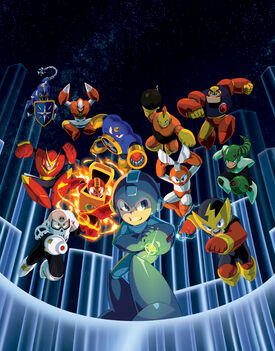 Mega Man Legacy Collection - Key Art