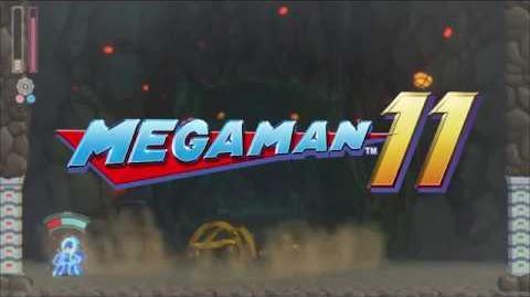 Mega Man 11 - Anuncio.