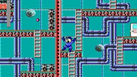 Mega Man 3 PC DOS Stage 3 - Bit Man