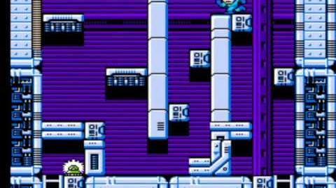 Mega Man 4 - Wily's Fortress Stage 2