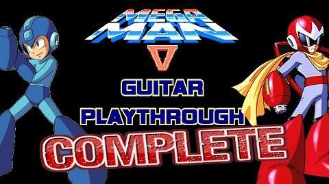 Mega Man 5 Guitar Playthrough