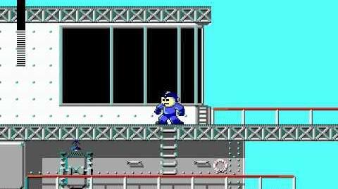 Mega Man 3 PC DOS Stage 1 - Wave Man