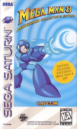 MegaMan8SaturnCarátula Americana