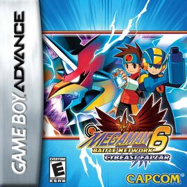 MegaMan Battle Network 6 Cybeast Falzar Coverart