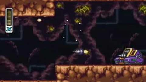 Mega Man X3 - Tunnel Rhino Stage Quarry Deposit