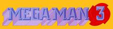 Mega Man 3 logo