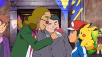 EP884 Mantle desafiando a Ash