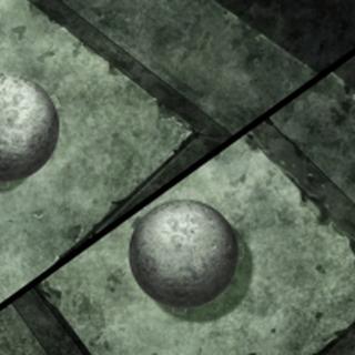 Esferas de piedra.