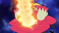EP996 Turtonator usando cola dragón