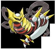 Giratina origen Pokémon Ranger 3