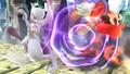 Mewtwo usando confusión SSB4 Wii U
