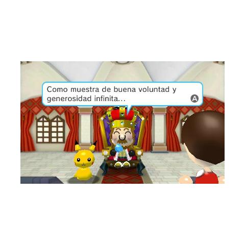 El rey pidiendo ayuda al jugador.