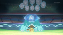 EP933 Metagross usando avalancha