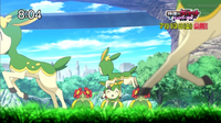 P16 Pokémon en el prado de las Colinas Pokémon