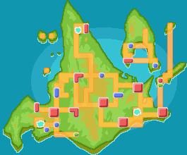 Sinnoh mapa juegos