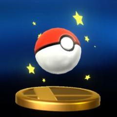 Trofeo de una Poké Ball en <a href=