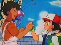 EP085 Brock despidiendose de Ash