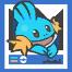 Póster azul ROZA