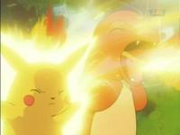 EP011 Pikachu usando impactrueno