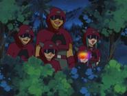 EP278 Team Magma espiando