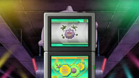 EP745 Koffing en la Pokedex