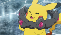 EP977 Pikachu con la Corona de Wela