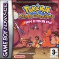 Carátula Pokémon Mundo Misterioso equipo de rescate rojo