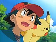 EP433 Ash y Pikachu