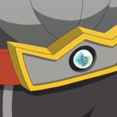 Piedra llave/activadora en el cinturón de <a href=