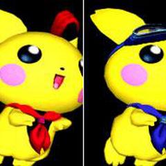 Paleta de colores de Pichu en Super Smash Bros. Melee