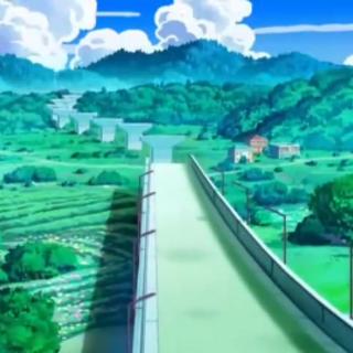 Puente Luxuria/Lujoso en construcción. Este puente lleva a la siguiente ciudad.