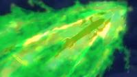 P18 Mega-Rayquaza usando ascenso draco