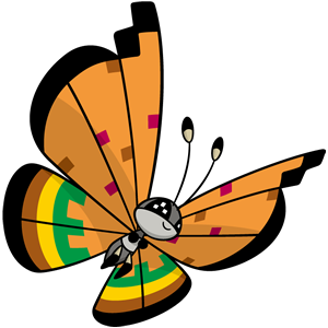 Vivillon estepa (dream world)
