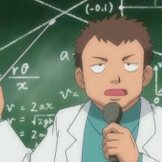Profesor Icarus/Ícaro cuando era adolescente.