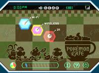 Fondo Pokémon café para el C-Gear