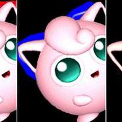 Paleta de colores de Jigglypuff en Super Smash Bros. Melee