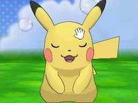 Pikachu en el Poké Recreo (1) XY