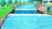EP1004 Pista de despege de los Ultraguardianes en el exterior de la Escuela Pokémon