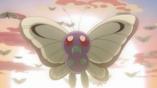 EP792 Butterfree despidiéndose