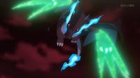EP937 Mega-Charizard usando garra dragón