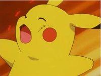 EP211 Pikachu recibiendo el ataque