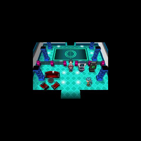 Interior de la casa examinadora en la <a href=