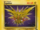 Zapdos (Fósil 30 TCG)