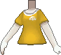 Camiseta de poké ball amarillo