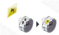 Pulsera Z y cristal Z