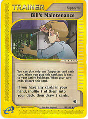 Bill's Maintenance (Expedition TCG)