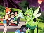 EP108 Misty con Scyther y Marill de Tracey