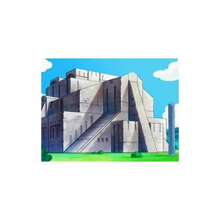 Ruinas Sosiego en el anime.